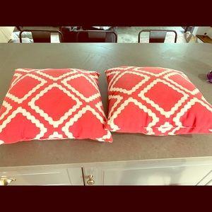 Other - Throw pillows